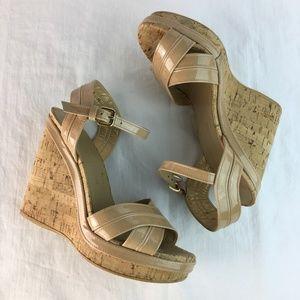 Stuart Weitzman Womens 6M Corkswoon Shoes Wedges